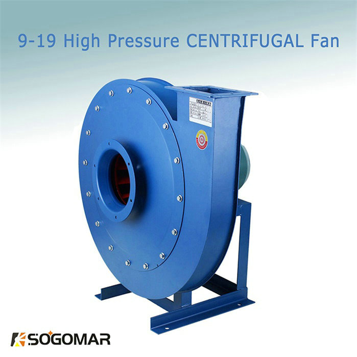 Super High Pressure Small Blowers : High pressure centrifugal fan blower with super